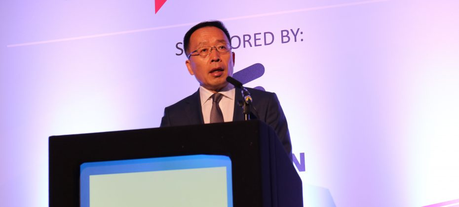 Huawei's president for global government affairs, Victor Zhang