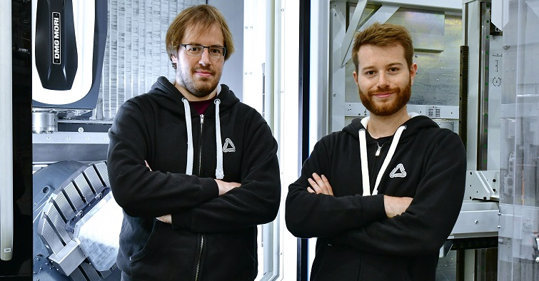 Chris Emery, co-founder and CTO (left) and Theo Saville, co-founder and CEO